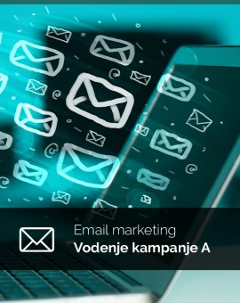 Mesečno vodenje (paket A) - email kampanje