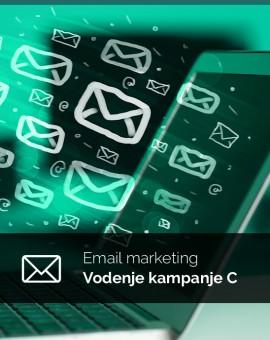 Mesečno vodenje (paket C) - email kampanje