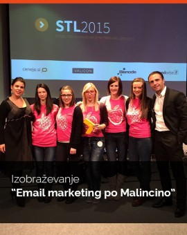 "Izobraževanja ""Email marketing po Malincino"" - 22.11.2016"