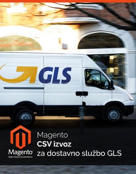 Magento CSV izvoz za dostavno službo GLS
