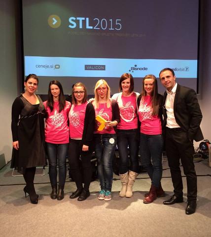 Podelitev nagrade za spletnega trgovca leta 2015