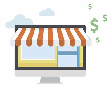 oblika spletne trgovine