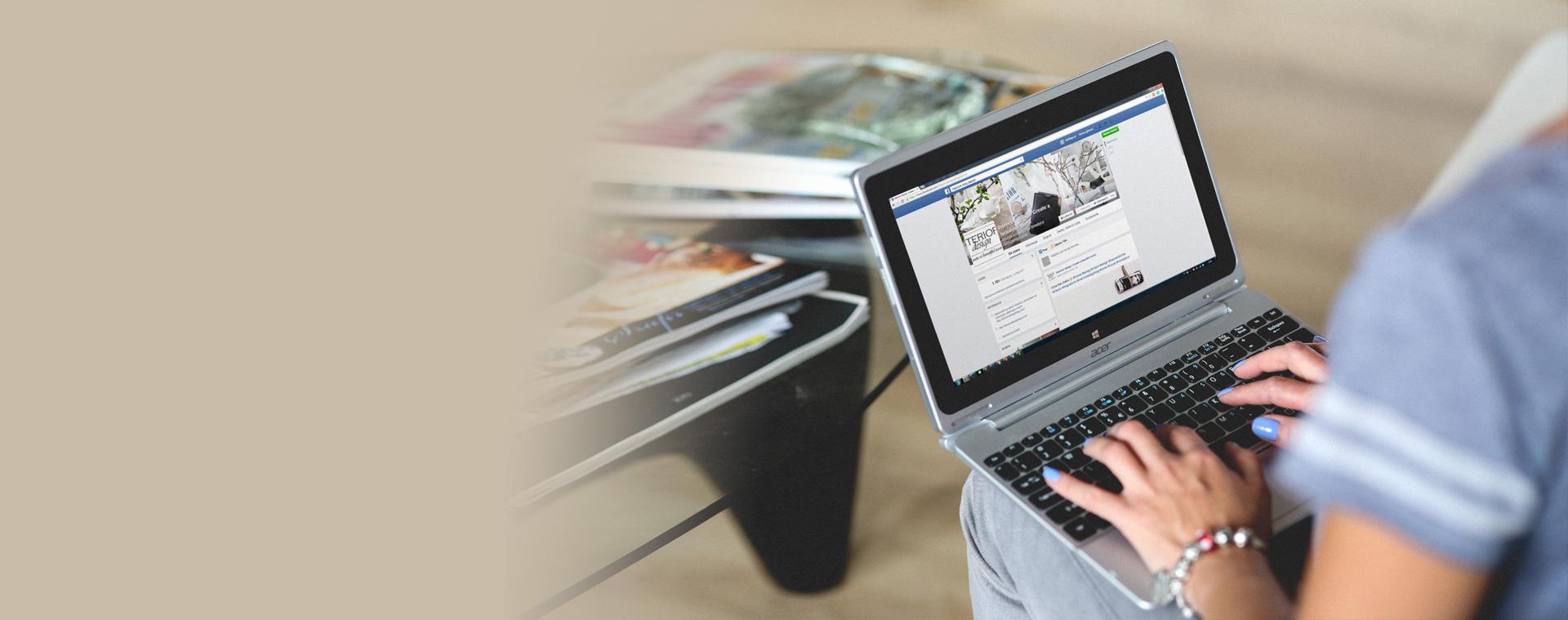 Facebook oglaševanje in komunikacija