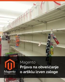 Magento Prijava na obveščanje o artiklu izven zaloge