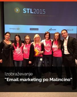 """Individualno izobraževanja """"Povečanje prodaje s pomočjo email marketinga"""""""
