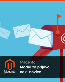 Magento Modul za prijavo na e-novice