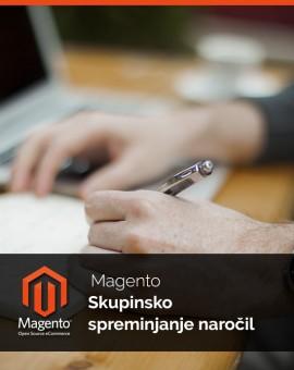 Magento Skupinsko spreminjanje statusov naročil