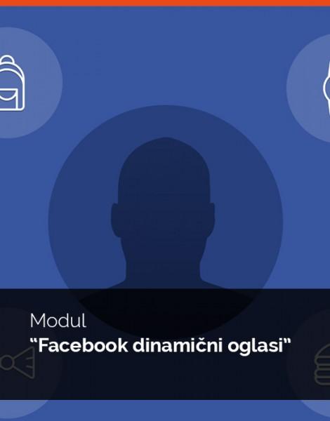 Modul Facebook dinamični oglasi