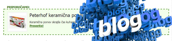 Povezava med blogom in spletno trgovino